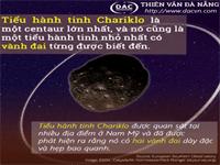 Tiểu hành tinh Chariklo có hai vành đai